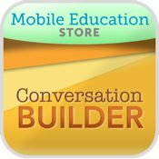 ConversationBuilder | Special Needs App Review - ConversationBuilder™ (Pat. Pend.) is designed to help elementary aged children learn how to have multi-exchange conversations with their peers in a variety of social settings.