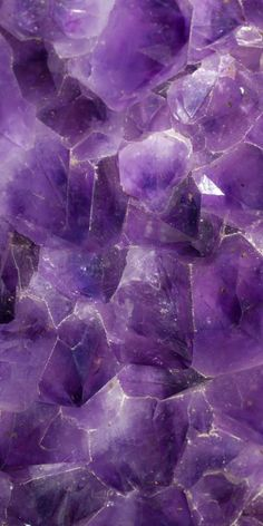 Amethyst: a #purple stone brings calmness and clarity, helps you to get in touch with your intuition. @catwisdom101