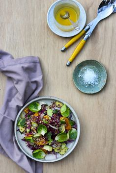 Quinoa with Fennel, Tangelo, Avocado + Herbs - photography Kate Olsson, Finger, Fork & Knife