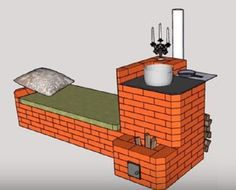 Soba Racheta - Ce este o soba racheta si cum functioneaza? Stove Heater, Stove Oven, Cordwood Homes, Rocket Mass Heater, Brick Bbq, Outdoor Fireplace Designs, Stove Fireplace, Rocket Stoves, Design Case