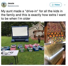 The aunt who went all out