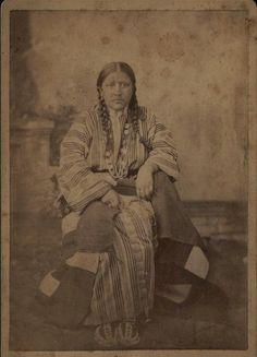 Mary Long Neck - Southern Cheyenne - circa 1885