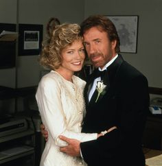 "Chuck Norris Sheree J Wilson from ""Walker:Texas Ranger""- one of my favorite TV couples! Chuck Norris Movies, Chuck Norris Facts, Detective, Walker Texas Rangers, Best Tv Couples, Steven Seagal, Wedding Movies, Star Wars, Great Tv Shows"