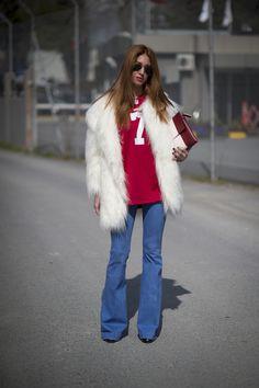 Street Style bei der Mercedes Benz Fashion Week in Istanbul