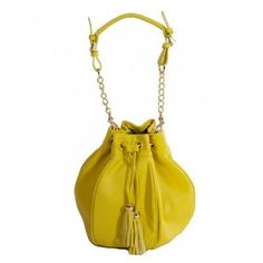 Iris Yellow Bag