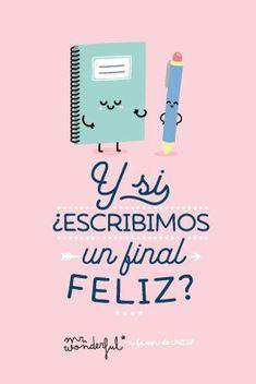 Y si ¿escribimos un final feliz? Mr Wonderful
