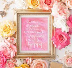 Instant Download PDF - Printable Quote - Dorm Decor - Wall Art Quote - Quote Art - Wall Quote - Inspirational Quote - Printable Art