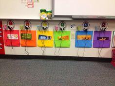 using ipod shuffles for listening center in kindergarten - Google Search