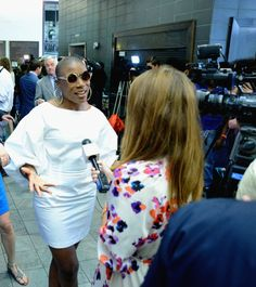 Aisha Hinds Aisha Hinds is interviewed at the premiere of Under The Dome in Wilmington, NC.