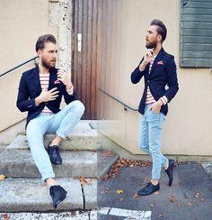Koton Blazer, Zara Shirt, Zegna Pocket Square, Cheap Monday Jeans, Hbyhudson Shoes