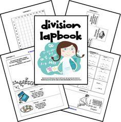 Division Lapbook Printables FREE