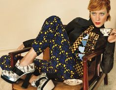 Our cup of tea. Chloe Sevigny for Miu Miu FW 12