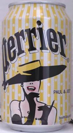 Paul & Joe for Perrier gorgeous hat #packaging PD