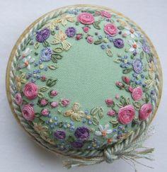 PP15 Sunshine and Flowers Pincushion Kit by lornabateman22 on Etsy