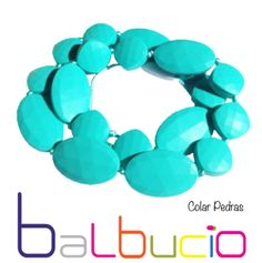 Collier turquoise Balbucio