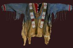 Native American War Shirt Mixed Media by Nat
