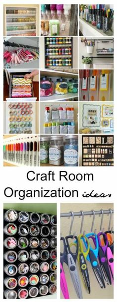 Craft Room Organization and Storage Ideas for the New Year – Scrap Booking
