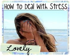 5 tips to deal with stress