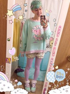 A Fairy Kei girl... with a pixie cut? HECK YES MY FRIEND