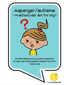 Dette selvforståelses-kursus for unge piger med autisme foregår over