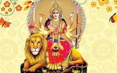 wallpapers of Lord maa durga wallpaper and images for mobile and desktop device in full resolution hd. if you like this wallpaers images of maa durga Nav Durga Image, Maa Image, Durga Picture, Maa Durga Photo, Durga Kavach, Durga Goddess, Krishna Hindu, Ganesha, Nataraja