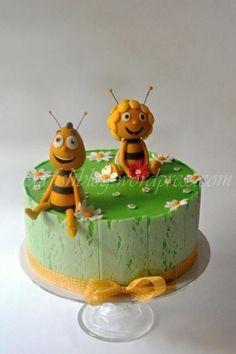 Maya the Bee Cake - Cake by Lenka M.