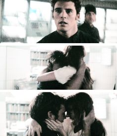 """Finnick and Annie. """"She crept up on me."""""""