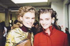 Marni Fall/Winter 2015 Trunkshow Backstage at Moda Operandi