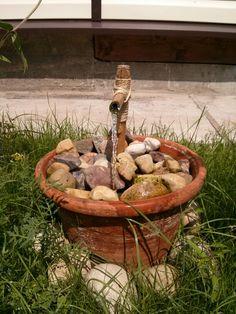 My DIY solar power fountain