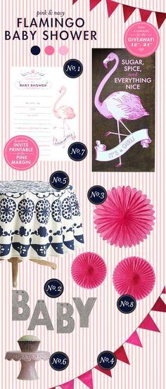 Flamingo Baby Shower
