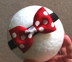 Minnie Mouse Headband, via Etsy.
