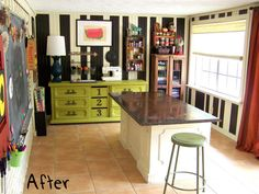 want a workroom like this!    http://olderandwisor.blogspot.com/2011/09/how-to-create-budget-craft-room.html
