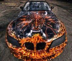Custom dragon paint