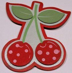 Cherries Bright-Ribbon Bow Holder  ($7.00)