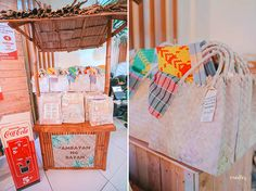 Seth's birthday bash is filled with all things Filipino from the entrance to the party favors! Birthday Bash, First Birthday Parties, Birthday Party Themes, First Birthdays, Birthday Ideas, Filipino, Fiesta Theme Party, Party Favors, Paskong Pinoy