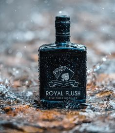 "Royal Flush Gin on Instagram: ""Once tasted, never forgotten. Royal Flush Premium Gin, 5 times distilled. Product of France"" Premium Gin, Never Forget, Perfume Bottles, France, Times, Instagram, Perfume Bottle, French"