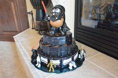 Star Wars Paper Cake