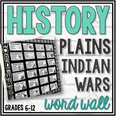 Word walls are a great way to introduce and reinforce new vocabulary in the classroom! I use word walls with every unit in both my United States History course and Geography courses. My students utilize my word walls daily! For example, I incorporate my word walls into my bell-ringers, I refer to my... Fort Laramie, George Armstrong, Ell Students, Create Your Own Card, Bell Ringers, Plains Indians, Word Walls, Vocabulary Building, Struggling Readers