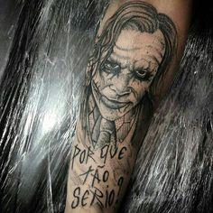 Joker  work by Rick tattoo insta @rick_tattooscp