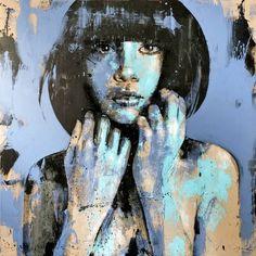 "Saatchi Art Artist Mario Henrique; Painting, ""Materia No. 3"" #art"