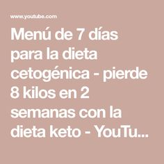 Recipes, Youtube, Healthy Dieting, Juices, Beverages, Healthy Quick Dinners, Health Recipes, Food Recipes, Rezepte