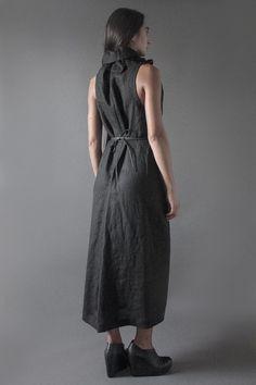 Linen Late Night Dress   Nuances Collection by Kesa   www.atelierkesa.com