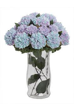 Blue/Purple Hydrangea Cupcake Bouquet