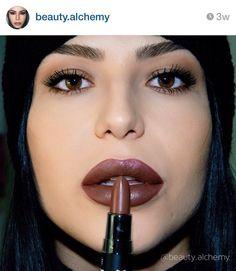NYX Cosmetics matte lipstick in Maison
