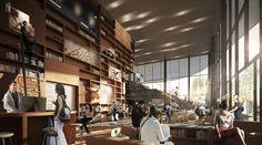 Proposta para o Museu de Arte da UC Davis,Cortesia de Henning Larsen Architects