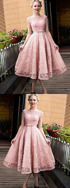 A-Line Prom Dresses #ALinePromDresses, Pink Prom Dresses #PinkPromDresses, Lace Homecoming Dresses #LaceHomecomingDresses, Prom Dresses 2019 #PromDresses2019, Homecoming Dresses A-Line #HomecomingDressesALine, Prom Dresses Lace #PromDressesLace