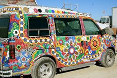 Bottle Cap Van... So Cool!
