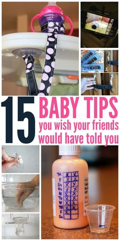 15 of those genius parenting tips that we wish we would have known during the baby phase