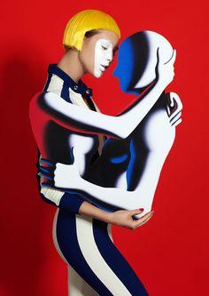 Mark Kostabi ~ Embrace Me