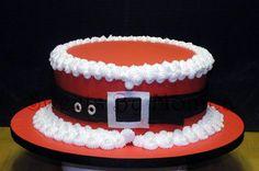 Ho! Ho! Ho! - by SweetsByMonica @ CakesDecor.com - cake decorating website